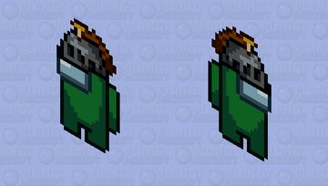 Nitwit's Among Us Character Minecraft Mob Skin
