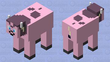 pokemon: miltank Minecraft Mob Skin