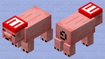 Mario Zombie Pig Minecraft Mob Skin