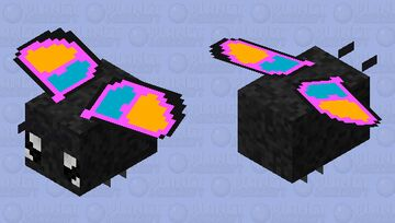 Butter fly Minecraft Mob Skin