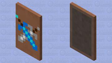 Sword cape Minecraft Mob Skin
