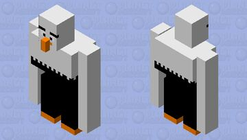 Angry birds mighty eagle Minecraft Mob Skin