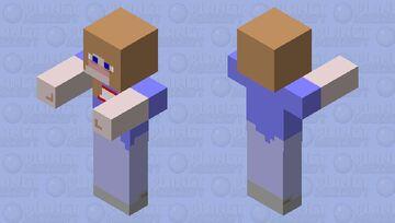 Girl Zombie Minecraft Mob Skin