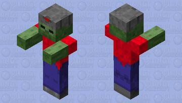 Ussr zombi Minecraft Mob Skin