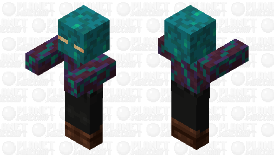 Zombie / from Warped Forest Minecraft Skin