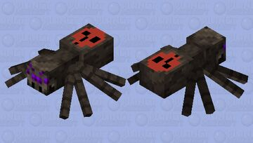 {normal} spider (cave only world) Minecraft Mob Skin