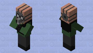 Soldier  Testificate Minecraft Mob Skin