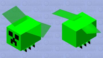 Fly Creeper Minecraft Mob Skin
