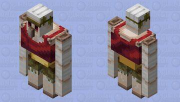 Savanna Iron Golem Minecraft Mob Skin