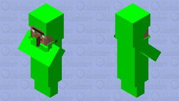 Almost green villager Minecraft Mob Skin