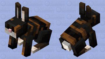 Conejo con rayas de tigre Minecraft Mob Skin