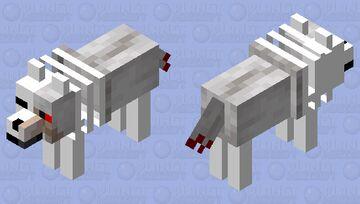 Zombie Wolf Minecraft Mob Skin