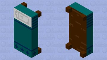 Patterned Bed Minecraft Mob Skin