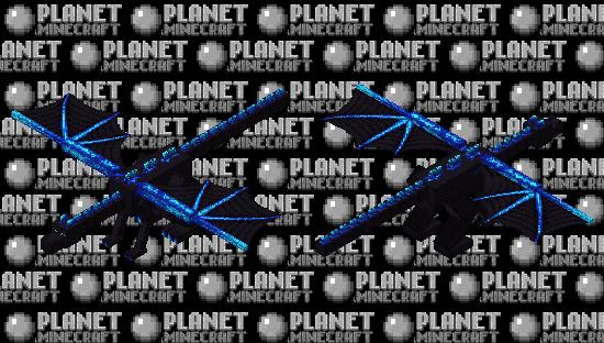 Fafnir the nordic blue dragon Minecraft Skin