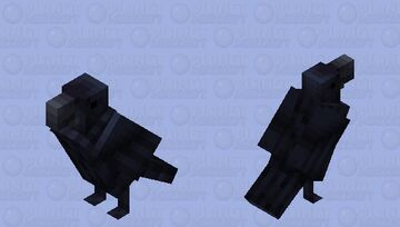 Bewitchedx32 - Parrot (crow) Minecraft Mob Skin