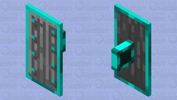 iron and diamond shield Minecraft Mob Skin