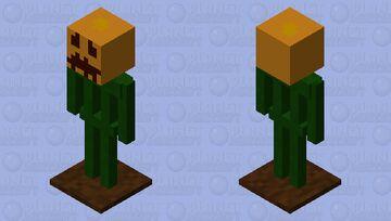 The Mutated pumpkin (Halloween Minecraft Mob Skin