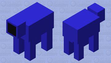 The slithering doom Minecraft Mob Skin