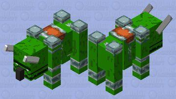 Dinasour raveger Minecraft Mob Skin