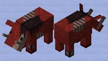 Banned Zoglin (𝕱𝖔𝖗𝖇𝖎𝖉𝖉𝖊𝖓 𝕾𝖔𝖚𝖑𝖘) Minecraft Mob Skin