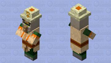 Sand Witch Minecraft Mob Skin