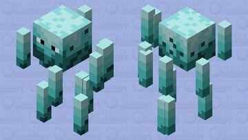 Blaze Frozen Lands Minecraft Mob Skin