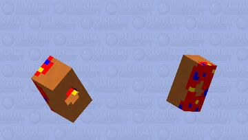 Breakfast Collection | Red Parrot Minecraft Mob Skin