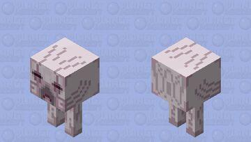 Cold Ghast Strider Minecraft Mob Skin
