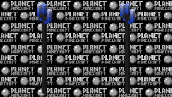 Blue Bladed Trident Minecraft Skin