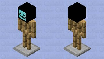 happy Minecraft Mob Skin