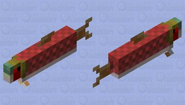 Salmon.exe Minecraft Mob Skin