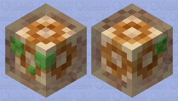 Slime Totem of undying Minecraft Mob Skin