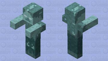 Frozen Husk Minecraft Mob Skin