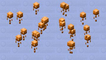 Baby Blaze Minecraft Mob Skin