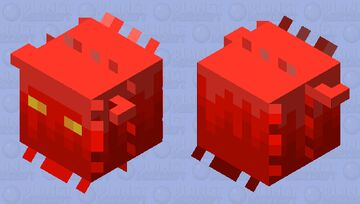 Spikey demon soul. Minecraft Mob Skin