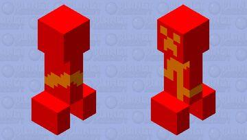 Fire elemental Minecraft Mob Skin