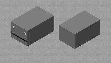 Shark Puppet (The Pig Version) Minecraft Mob Skin