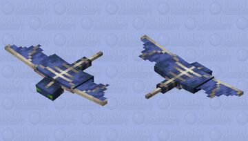Phantom (Better wings) Minecraft Mob Skin