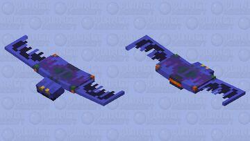 Marvel - 90s Goblin Wing Bomber (& Mini-Glider) Minecraft Mob Skin