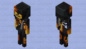 wither skeleton desolation of world Minecraft Mob Skin
