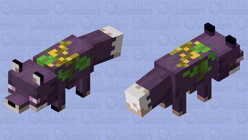 Ancient Guardian fox Minecraft Mob Skin