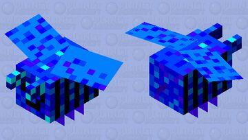 blue tree Minecraft Mob Skin