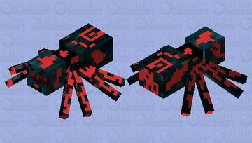 cave_spider Minecraft Mob Skin