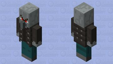 If the Vindicator was made earlier Minecraft Mob Skin
