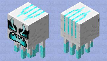 Ghast in my own style (Firing version) (HD skin) Minecraft Mob Skin