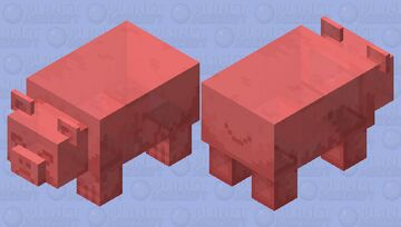 Agressive gummy bear Minecraft Mob Skin