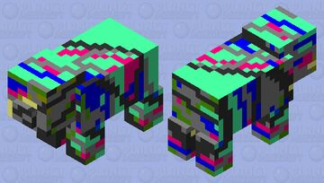 Abstract pig Minecraft Mob Skin