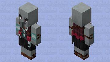 Defense illager / re-texturing Minecraft Mob Skin