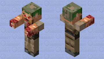 Former Human (DOOM) Minecraft Mob Skin