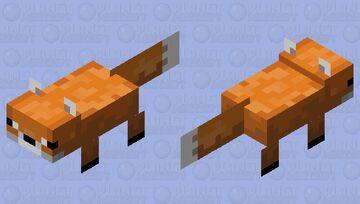 Foxolotl Minecraft Mob Skin